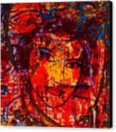 Self-portrait-5 Canvas Print