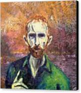 Self Portrait Canvas Print by John  Nolan
