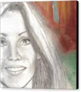Self Sketch 2005 Canvas Print