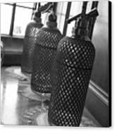 Seltzer Bottles Canvas Print by Lauri Novak