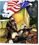 Semper Fideles -  Iraq Canvas Print