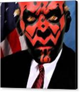 Senator Darth Maul Canvas Print