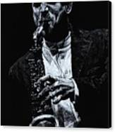 Sensational Sax Canvas Print by Richard Young