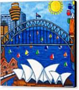 Sensational Sydney Canvas Print