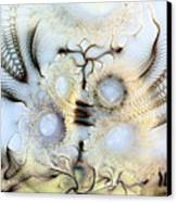 Sensorial Paroxysm Canvas Print by Casey Kotas