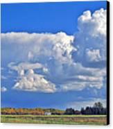 September Clouds Canvas Print