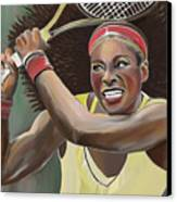 Serena Canvas Print by James  Mingo