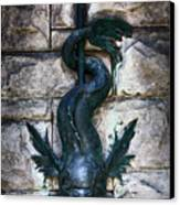 Serpent Fountain Canvas Print by Doug Sturgess