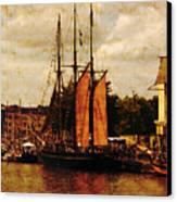 Setting Sail From Bristol Canvas Print