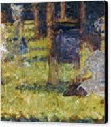 Seurat: Grande Jatte, 1884 Canvas Print by Granger