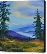 Seven Mile Saddle Canvas Print
