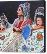 Sevilla's Ladies Canvas Print