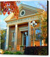 Seymour Public Library Canvas Print