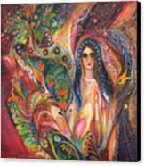 Shabbat Queen Canvas Print
