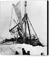 Shackletons Endurance Canvas Print by Granger