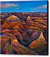 Shadow Canyon Canvas Print by Johnathan Harris
