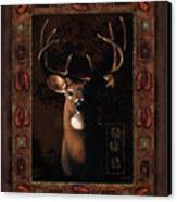 Shadow Deer Canvas Print