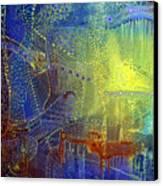 Shadow Of The Dream IIi Canvas Print by Lolita Bronzini