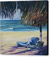 Shady Beach Canvas Print