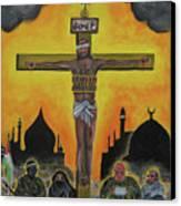 Shahid Or Martyr Canvas Print by Darren Stein