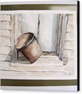 Shakertown Bucket Canvas Print
