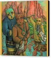 Shamans Of Sedona  Canvas Print