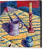 Shaving Mug Canvas Print