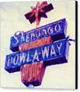 Shenango Bowl-a-way Canvas Print