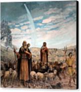Shepherds Field Painting Canvas Print