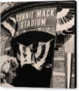 Shibe Park - Connie Mack Stadium Canvas Print by Bill Cannon