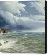 Shipping In Open Seas Canvas Print