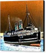 Shipshape 4 Canvas Print