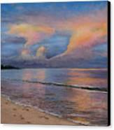 Shore Of Solitude Canvas Print