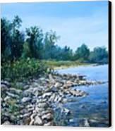 Shoreline Canvas Print