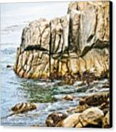 Shores Of Pebble Beach Canvas Print