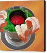 Shrimp Cocktail Canvas Print
