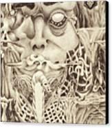 Shudders Canvas Print by Sean Imler
