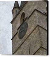 Sibiu Clock Tower Canvas Print