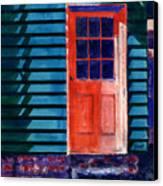 Side Door Canvas Print