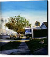Sidewalk Sale Canvas Print