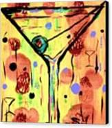 Sidzart Pop Art Martini This Is Sooo Mine Canvas Print
