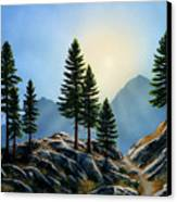 Sierra Sentinals Canvas Print