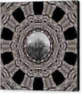Silver Idyl Canvas Print