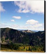 Silver Star Mountain Top Canvas Print