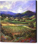 Silverado Valley Blooms Canvas Print