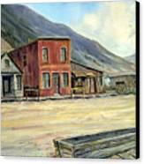 Silverton Colorado Canvas Print by Evelyne Boynton Grierson