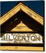 Silverton Train Station Canvas Print