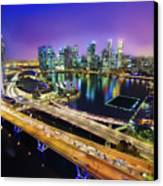 Singapore Flyer Canvas Print by You can view more of my images at www.on9cloud.com