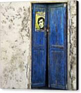 Singin' The Blues Canvas Print by Meirion Matthias