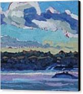 Singleton Solstice Stratocumulus Canvas Print